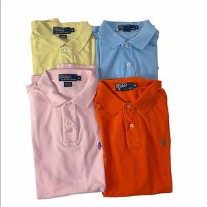 Lot of 4 pieces of Polo Ralph Lauren Polo Shirt M
